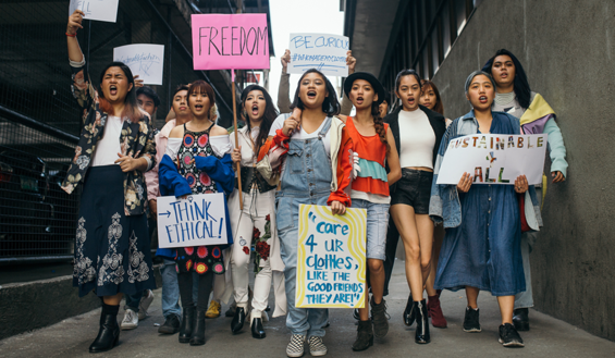 Get involved in Fashion Sustainability